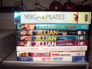 Piper's Run - collection of DVD workouts!!!
