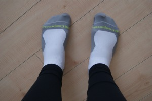 Testing out my Pro Compression socks  - review coming soon!