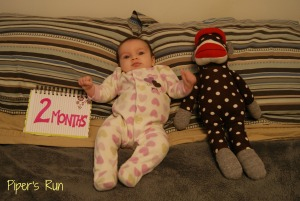 Hilary 2 months old