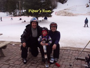 Three generations skiing ~ March 21st 2013