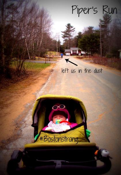 Stroller Running #bostonstrong