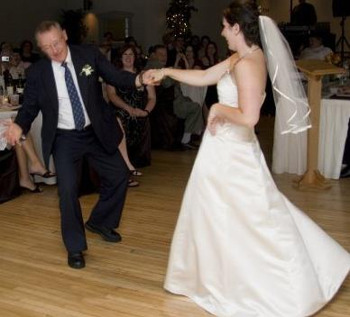 My wedding dance with Dad