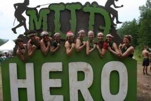 Mud Hero's After 6km and 17 obstacles