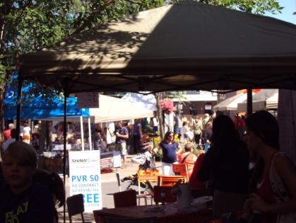 Kentville Farmer's Market - at a glance.