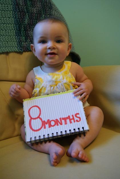 Hilary Elise - 8 months old