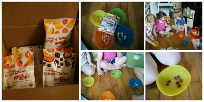 Little taste testers - Sprout Foods