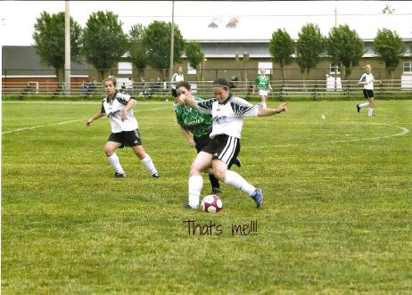 Anna soccer  10 years ago