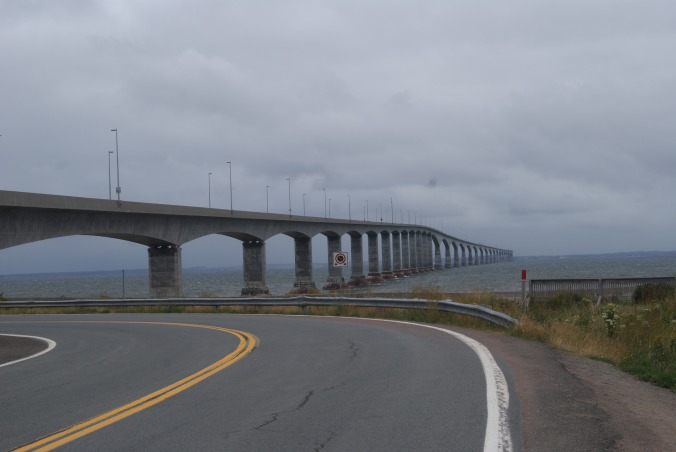 Confederation Bridge to Prince Edward Island.