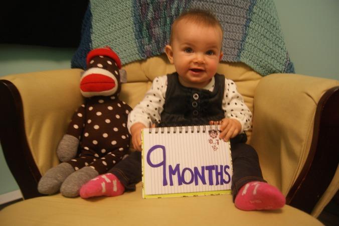 Hilary Elise 9 months