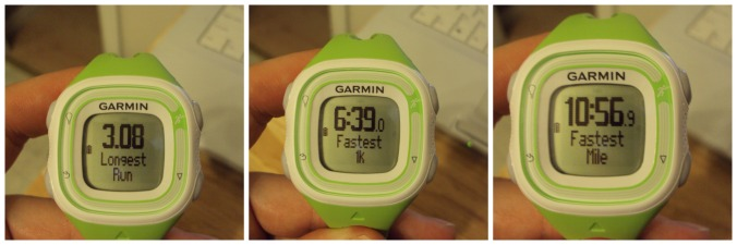 First Garmin Run Details