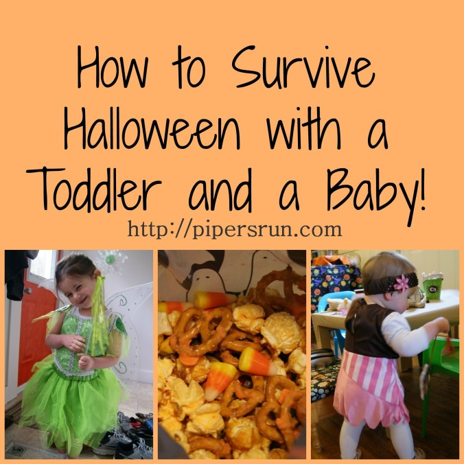 How to Survive Halloween with a Toddler and a Baby