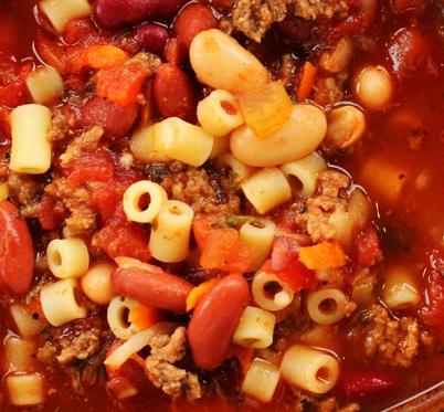 Olive Garden soup