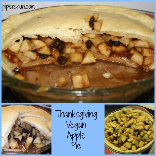 Thanksgiving Vegan Apple Pie