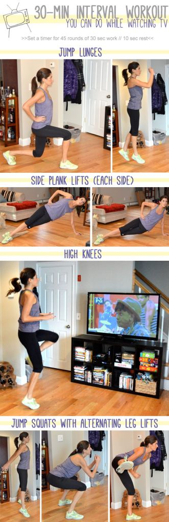 30 minute interval workout TV