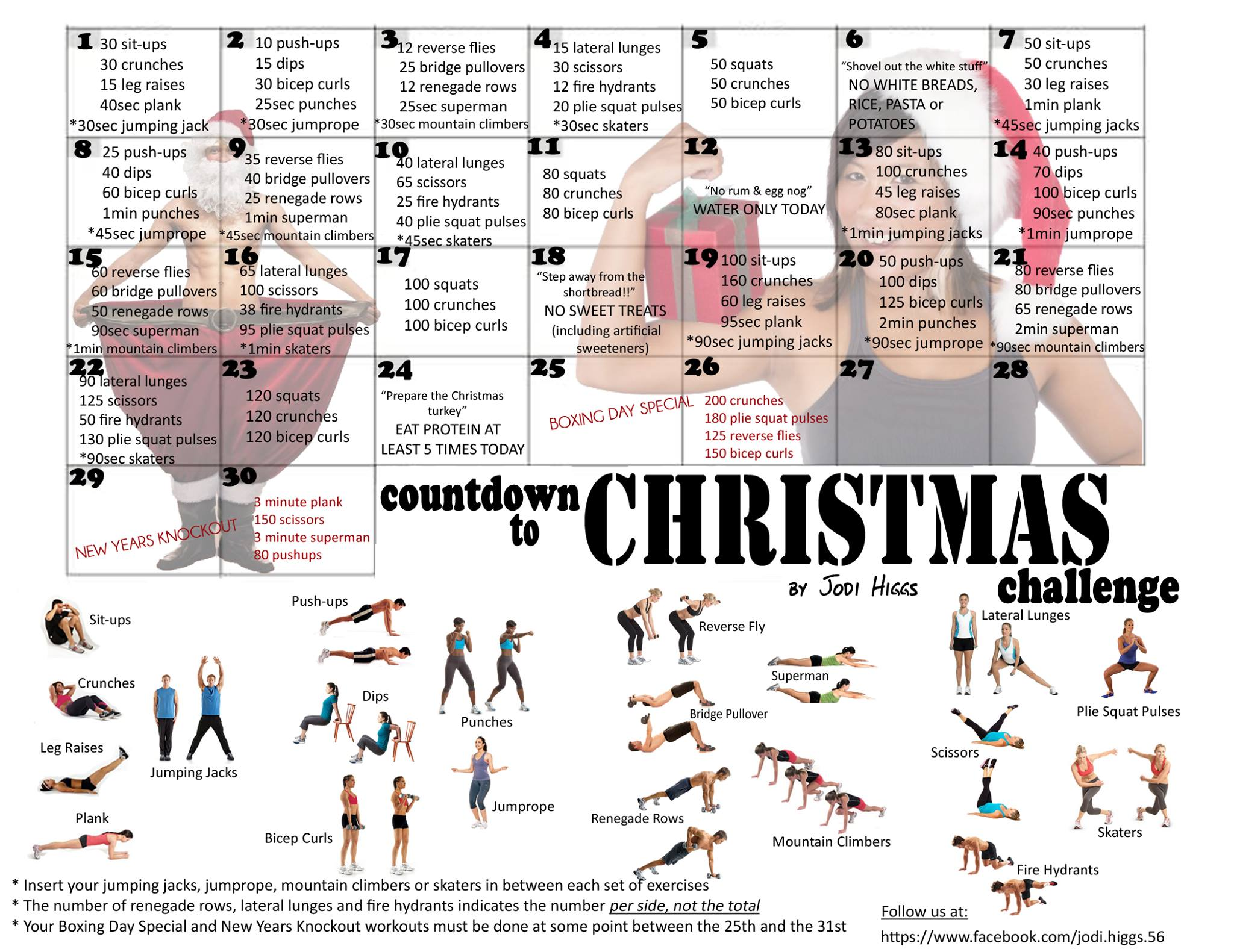 Countdown to Christmas Workout | Piper's Run
