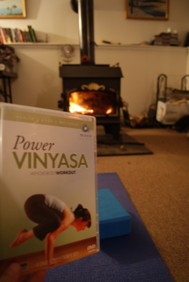 Hot Yoga at Home :)