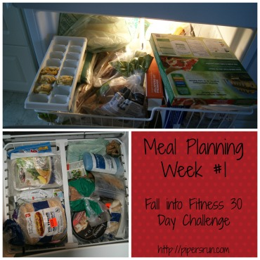 meal planning fall into fitness week 1