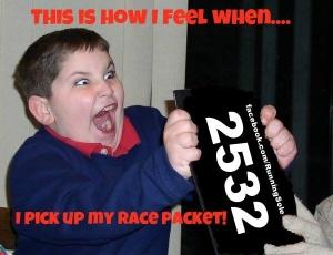 race kit pick up