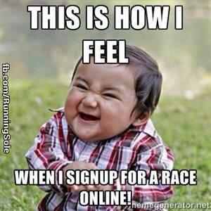 registration for run