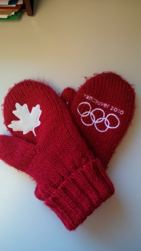 Vancouver 2010 Olympic Mitts
