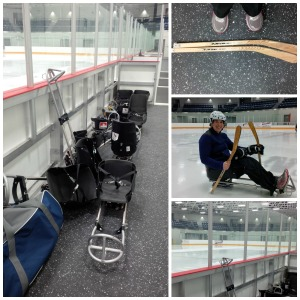 sledge hockey march 2014