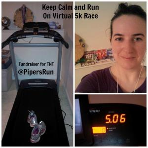 Keep Calm and Run On Virtual 5k Race