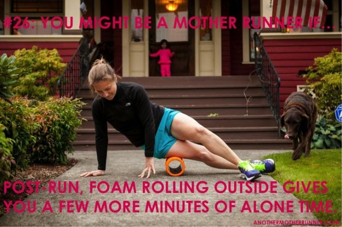 mother runner foam roll