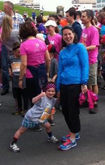 Me and my BIg Girl - Bluenose Kids 2k Run