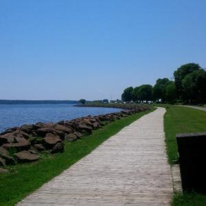 Charlottetown, Prince Edward Island {boardwalk}