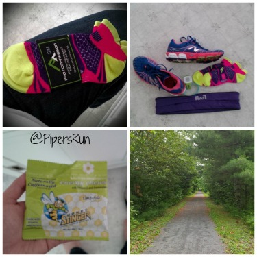 PR Run on trail stingers socks