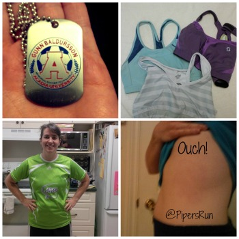 Sports bras, jersey and injury.