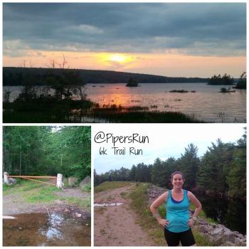 6k Trail run