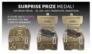 This is just the bling for the Maritime Race Weekend.