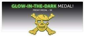 glow in the dark medal