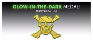 glow in the dark medal
