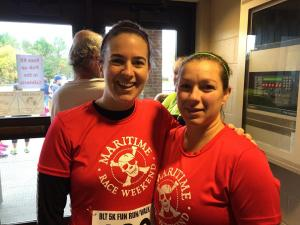 anna and tracey blt run 2014