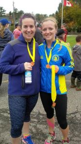 Anna & Heather BLT Run