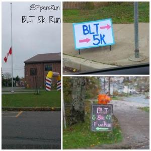 BLT 5k run flag