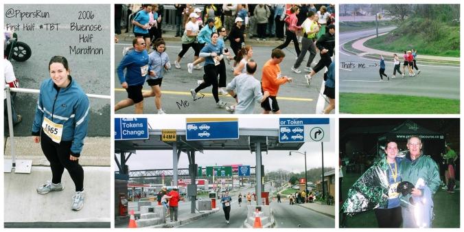 First Half Marathon Bluenose 2006