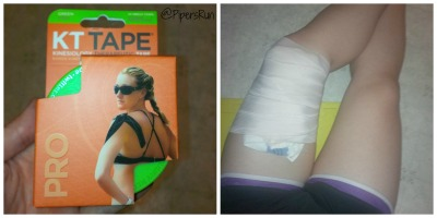 KT Tape and Ice