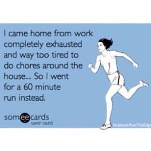 run after work