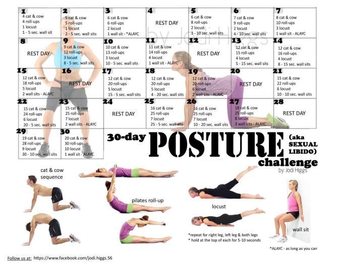 30 Day Posture Challenge Jodi Higgs
