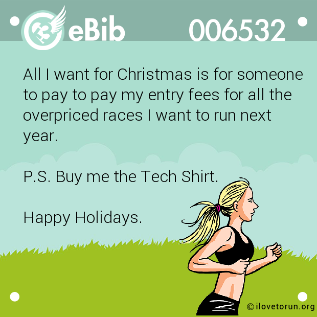 Christmas Gifts For Runners: All I Want For Christmas Is…Gift Giving For Runners