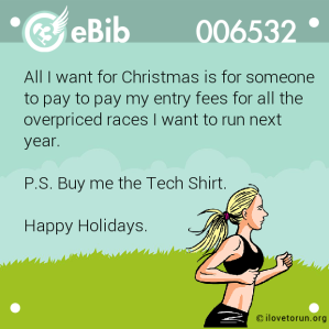 Runners Christmas