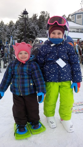 Skiing & Snowshoeing again :)