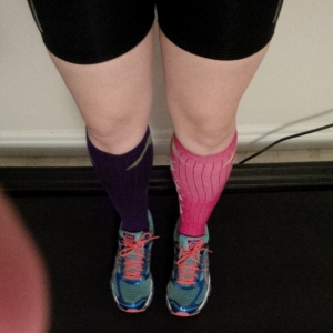 Back to compression socks #twopairdontcare