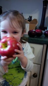 Yummy Apple Mommy!