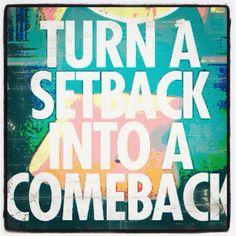 set back come back