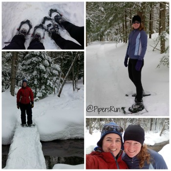 snow shoe hike