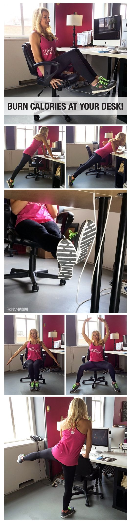 5 ways to burn calories while at your computer